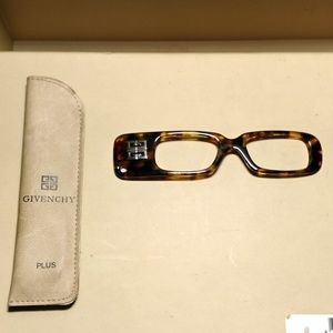 NEW- Givenchy Lorgnette Handheld Reading Glasses